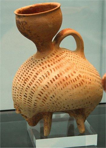 Ceramic Hedgehog Rhyton